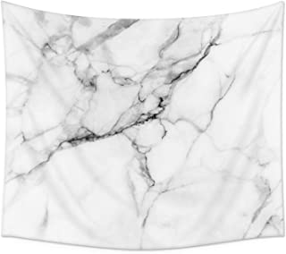 yinhua Marble Tapestry Wall Tapestry Wall Hanging Tapestries for Bedroom Living Room Dorm Handicrafts Beach Cover Up Curtain Home Decor Tapestries Bedspread(59.1''×82.7'', Marble)