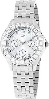 Carlo Monti - CM504-181 - Reloj de Mujer de Cuarzo, Correa de Acero Inoxidable Color Plata