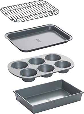 Chicago Metallic Non-Stick Bakeware Set - Best baking sheets for Convection oven