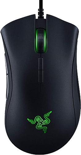 Razer DeathAdder Elite - Chroma Enabled RGB Ergonomic Gaming Mouse - World's Most Precise Sensor - Comfortable Grip -...