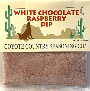 Coyote Country's White Chocolate Raspberry Dip Mix (3 Pack)