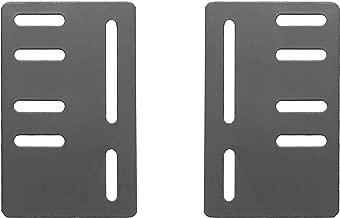 Leggett & Platt Bed Frame Bolt-On Modi Plate to Accommodate Bed Frames with Different Sized Headboards, 2-Pack