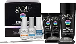 Gelish PolyGel Professional Nail Technician All-in-One Enhancement French Kit