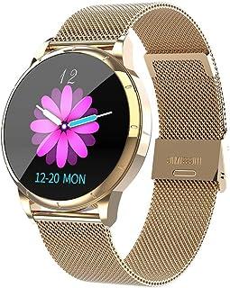 YZY Reloj Inteligente de la versión 2019,Pulsera Actividad con Monitor de frecuencia cardíaca Rastreador de Actividad a Prueba de Agua IP67 con Reloj podómetro para Mujeres Hombres