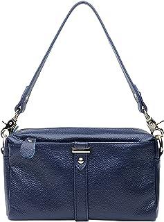 Royal Saierlong Nouveau Bleu Véritable Cuir Sacs Portés Femmes Ib7yv6mfYg