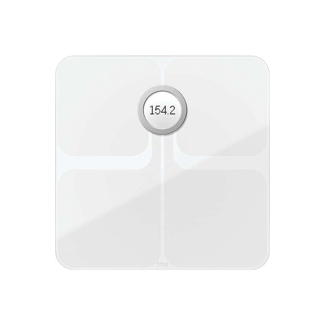差脅かす豆腐Fitbit(フィットビット) Aria 2 Wi-fi/Bluetooth スマートスケール 多機能 体重計 (White)