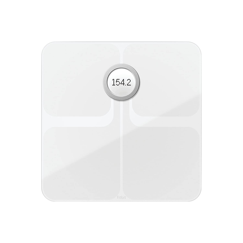 Fitbit(フィットビット) Aria 2 Wi-fi/Bluetooth スマートスケール 多機能 体重計 (White)