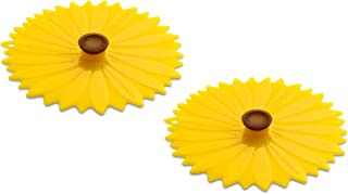 Charles Viancin Sunflower Drink Cover Set/2