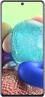 هاتف سامسونج جالكسي ايه 71 بشريحتي اتصال بسعة 128 جيجابايت وذاكرة رام 8 جيجابايت، الجيل الخامس ال تي اي، منشور مكعب، باللو...