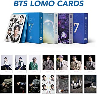 4 Pack /216 Pcs KPOP BTS Postcards Set New Album Lomo Cards Map of the soul 7 Greeting Card Bangtan Boys World Tour BTS Gift for Army (4 Pack/ 216 Pcs)