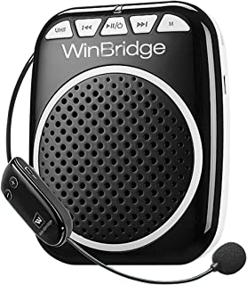 WinBridge Wireless Voice Amplifier WB711 Microphone with Speaker Personal PA System..