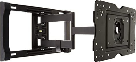 Amazon Basics Heavy-Duty Full Motion Articulating TV Wall Mount for 32-80 inch TVs up to 130 lbs, fits LED LCD OLED Flat C...