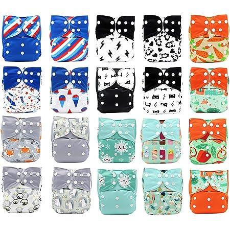 Woodland Cloth Diaper Embroidered Cloth Diaper Diaper Inserts Raccoon Cloth Diaper Pocket Nappy Funny Baby Cloth Diaper Cover