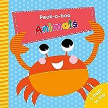 Animals: 5 Flaps to Flip! (Peek-a-Boo)
