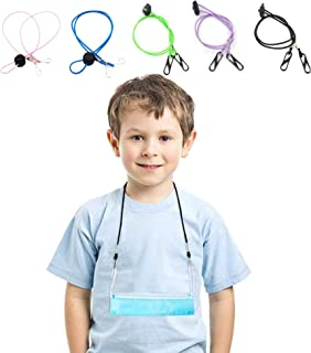 HappyLife (5PCS) Mask Lanyard Necklace Strap for Kids and Adults - Handy, Convenient Easy On & Off Around Neck