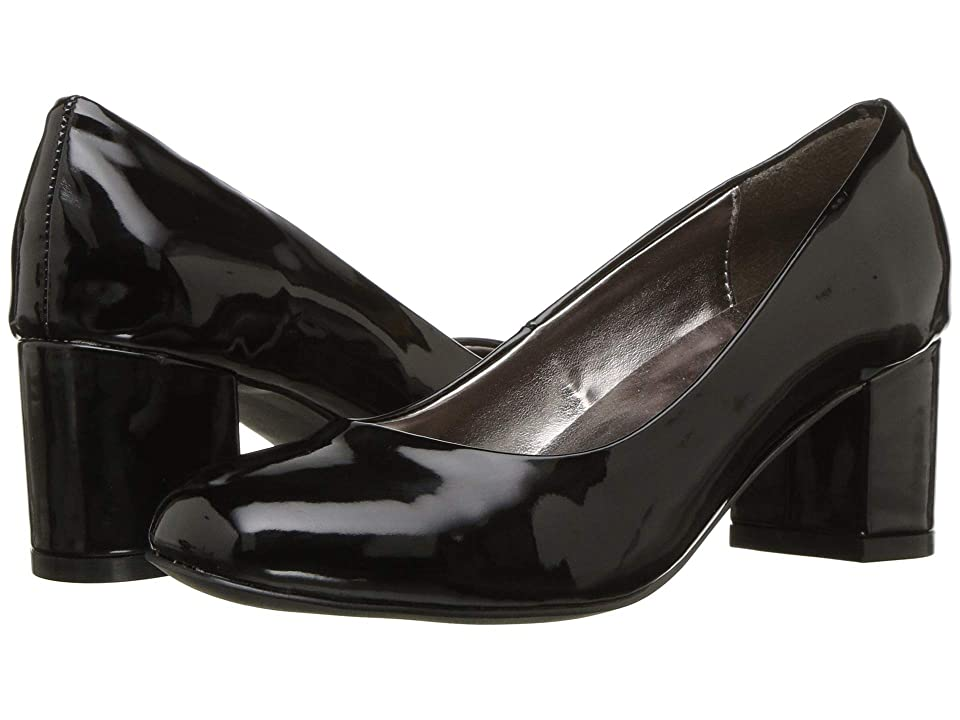 Image of Amiana 15-A5500 (Little Kid/Big Kid/Adult) (Black Patent) Girl's Shoes