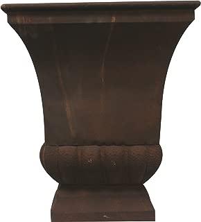 Gardman 8225 Large Rustic Metal Urn Planter, 15.75