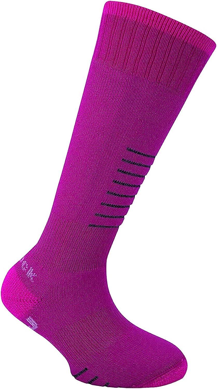 Eurosock unisex-child Snowbase Jr Ski Socks(2-pk)