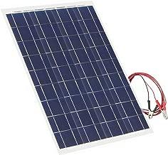 30 Watt Flexible Solar Panel 18V 12V Portable Polycrystalline Solar Panel Charger Bendable Thin Lightweight Solar Panel Kit for RV, Car, Boat, Cabin, Tent