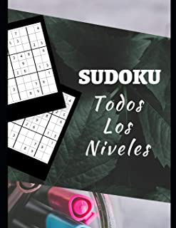 SUDOKU TODOS LOS NIVELES: Diviértete sea cual sea tu nivel con este libro de rompecabezas de sudoku | 150 páginas | Con soluciones | Fácil, Intermedio, Experto | Adultos y niños | Letra grande