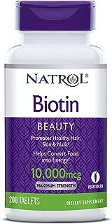 natrol biotin 1000 mcg fast dissolve