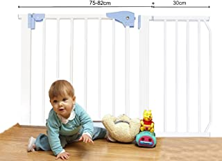 Kiddale Extra Long Safety Gate(Barrier,Fence) For Dogs, Pets, Infants & Babies 108Cm To 112cm