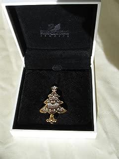 SWAROVSKI 2001 Christmas Tree Broach