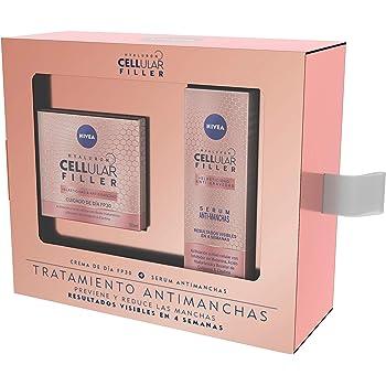 NIVEA Pack Hyaluron Cellular Filler, Crema de Día Antiedad y Serum ...