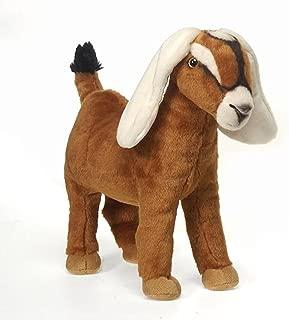 Fiesta Toys Nubian Goat Plush Stuffed Animal Toy 12