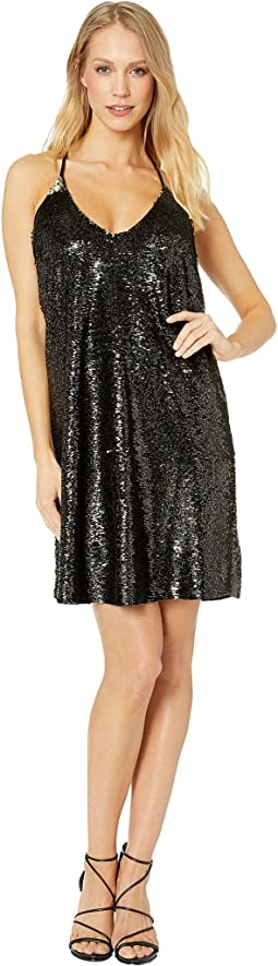 After Hour Sequin Mini Dress