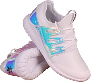 adidas AQ6281 Grade School Tubular Radial K White/Silver/White