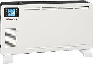 Bimar S603.EU - Calefactor (Calentador de cuarzo, 15 h, CE, Interior, Negro, Blanco, Botones)