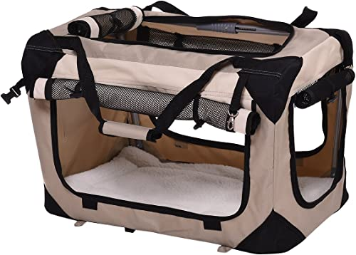 lowest Giantex Pet Dog Carrier Portable House Soft Sided Cat Travel Crate Tote online sale Bag wholesale Dog Crate Indoor & Outdoor Use 4 Sizes/ 4 ColorColor outlet online sale
