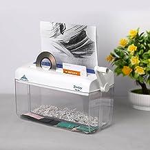 $62 » N\C Mini Portable Hand Paper Shredder3-in-1 Household Manual Shredder Document File C D Credit Card Cutting Machine Toolfo...