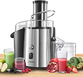 Twinzee - Centrifugeuse, Grande Puissance 850 W, Haute Efficacité, Extracteur de Jus de Fruits et Légumes, 2 Vitesses - La...