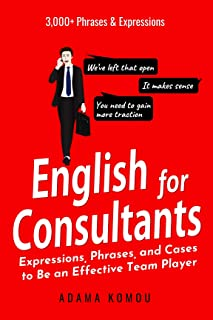 English for Consultants: Expressions, Phrases, and Cases to Be an Effective Team Player (English Edition)