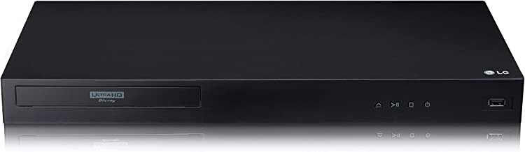 LG UBK80 4K Ultra-HD Blu-ray Player with HDR Compatibility (2018) (Renewed)