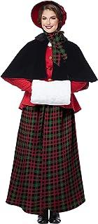 California Costumes Holiday Caroler Woman Costume