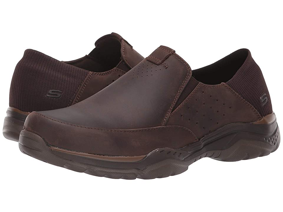 SKECHERS Relaxed Fit(r): Rovato Masego (Brown) Men