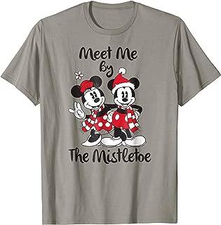 Mickey Mouse Mistletoe Christmas T Shirt