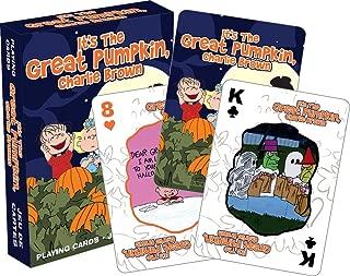 Aquarius Charlie Brown Great Pumpkin Playing Cards