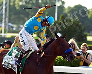 SPORTSPHOTOSUSA American Pharoah Belmont Stakes Triple Crown Winner 8x10 Photo