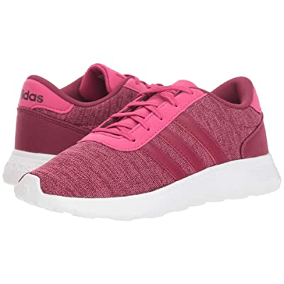 adidas Kids Lite Racer (Little Kid/Big Kid) (Real Magenta/Mystery Ruby/Mystery Ruby) Kids Shoes