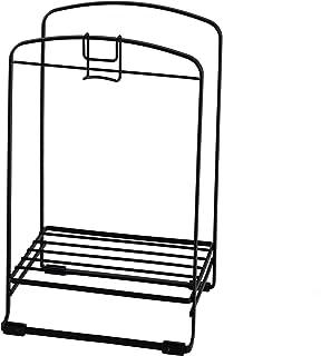 【BLKP】 パール金属 風呂ふた スタンド 風呂 収納 限定 ブラック BLKP 黒 AZ-5081