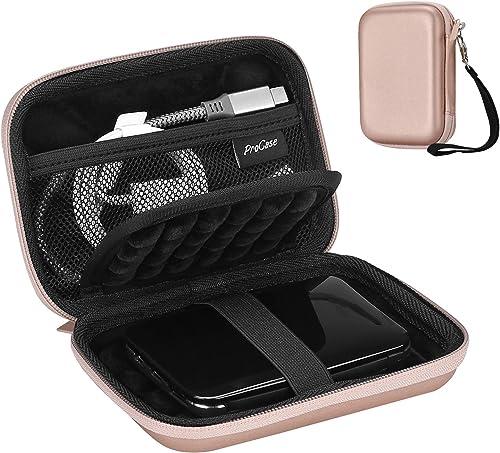 ProCase Portable Hard Drive Case for Canvio Basics Western Digital WD Elements My Passport Seagate Portable Backup Pl...