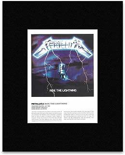 METALLICA - Ride The Lightning Matted Mini Poster - 29x21cm