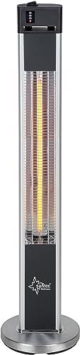 SUNTEC Radiateur radiant Wellness Carbon pour terrasse, W, Heat Patio 2000, argent