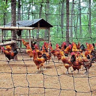 LSXIAO Bird Netting Chicken Coop Pet Fence Nylon Braid Fruit Harvest Photosynthesis Anti-UV Resist Wind and Rain Prevent P...
