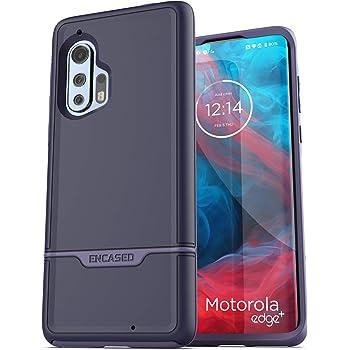 Encased Protective Motorola Edge Plus Purple Case (2020 Rebel Armor) Military Grade Heavy Duty Full Body Cover (Moto Edge+)