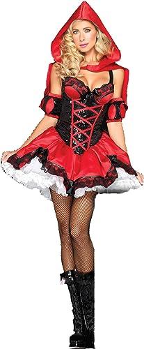 edición limitada en caliente LNC-QQNY Lenceria Sexy COS Competición de Comercio Comercio Comercio Internacional para mujeres Traje de Disfraces Traje de Las mujeres Adultas Europeas y Americanas Traje de Halloween Sexy Little rojo Hat  increíbles descuentos